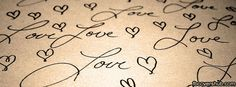 Love Writing Fb Cover Facebook Timeline Cover - FB Cover