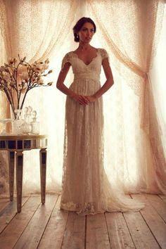 Conheça a coleção de 2013 dos Vestidos de Noiva da estilista Australiana Anna Campbell, que está arranca suspiros com seus modelos ultra românticos! Veja +: