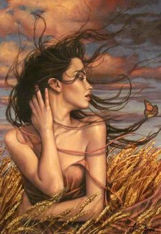 Harvest winds by Lauri Blank