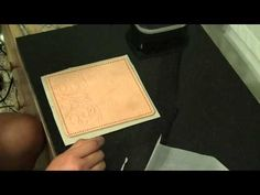 ▶ Leather Working Part 2 - YouTube