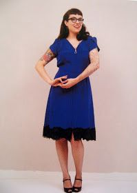 Gertie's New Book for Better Sewing: 1940s Zip-Front Dress