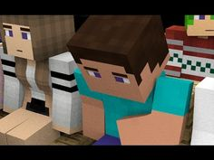 """Minecraft animation """"STEVE LIFE STORY"""" tells of a day Steve go to the cinema to watch a movie, and there are a lot of funny stories in cinema. Steve Minecraft, Minecraft Stuff, Monster School, Go To The Cinema, Animation, Funny Stories, Toys, Life, Children"""