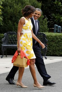 President and First Lady Michele Obama