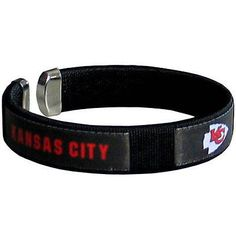 Kansas City Chiefs NFL Fan Band Bracelet