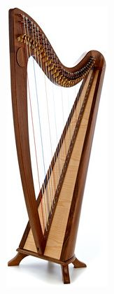 Thomann CLH-34W Celtic Lever Harp #Thomann Celtic, Rocking Chair, Instruments, Decor, Harp, Chair Swing, Decoration, Rocking Chairs, Decorating