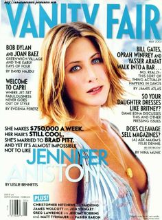 Jennifer Aniston with short hair.
