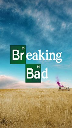 ↑↑TAP AND GET THE FREE APP! Movies Breaking Bad Blue Yellow Series Poster Heisenberg Drama HBO Landscape Van HD iPhone 6 plus Wallpaper