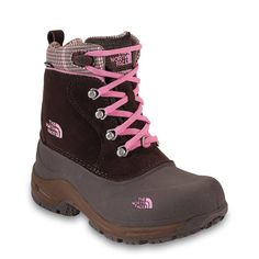 Check out the The North Face Girls Chilkats Lace Snow Boots on Altrec.com