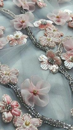 Embroidery Techniques Fashion Tambour Beading 41 Trendy Ideas I needed to exhibit you making a bracelet with natural … Tambour Beading, Tambour Embroidery, Bead Embroidery Patterns, Couture Embroidery, Embroidery Fashion, Hand Embroidery Designs, Embroidery Dress, Ribbon Embroidery, Floral Embroidery