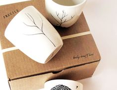 With a porcelain art pen and inexpensive stock white china you too can create these neat gifts..I did!