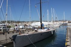 #SYAragon in #Palma having her #rig re-stepped by our #riggers.. #MeetTheRiggers #RiggingInPalma
