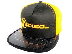 bb9e1f3f9f5 Amazon.com  SOLSOL Solar Hat Charger That Charges   Extends The Battery  Life Of Your Cell Phones  Cell Phones   Accessories