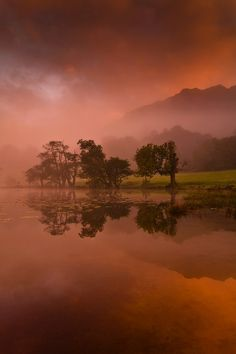 Louthrigg Dawn, Lake District, England, by Steve Thompson, on flickr.