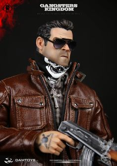 """Preview DAM Toys 1/6 scale Gangsters Kingdom Spade 4 """"Chad"""" 12-inch Figure"""