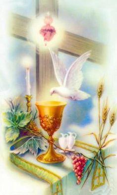 Invocações ao Divino Espírito Santo - Oração e Devoção a Deus Pai a Jesus Cristo ao Espírito Santo a Virgem Maria a São Jorge e Anjos do Céu.