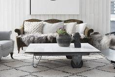 DIY: Förändra ditt gamla soffbord med 15*15 kakel