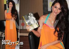 Malaika Arora looks colourful in a Wendell Rodricks gown during the designer's book launch.