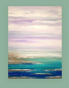 Kunst und Sammlerstücke Gemälde abstrakt Acryl