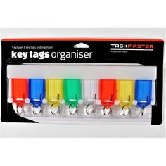 Find Taskmaster Key Tag Organiser - 8 Pack at Bunnings Warehouse. Visit your local store for the widest range of building & hardware products.