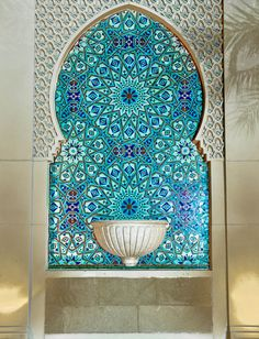turquoise (Islamic Art by UAEWings on Flickr)