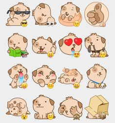 Kuper Stickers Set | Telegram Stickers