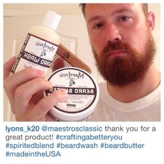 @Lyons_k20 Welcome Maestro thanks for being undeniably good at spreading the news about Maestro's Classic beard care. We appreciate you. Maestro Salute