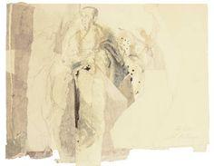 """Saatchi Art Artist Ute Rathmann; Drawing, """"Hommage à Botticelli XIV"""" #art"""
