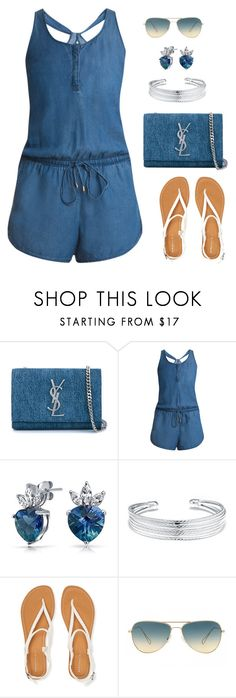 """""""Untitled #672"""" by gallant81 ❤ liked on Polyvore featuring Yves Saint Laurent, Splendid, Bling Jewelry, Belk Silverworks, Aéropostale, Oliver Peoples, women's clothing, women, female and woman"""