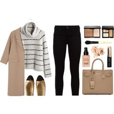 Work It by amazing-abby on Polyvore featuring moda, Madewell, Monki, Hudson, Chanel, Yves Saint Laurent and Bobbi Brown Cosmetics