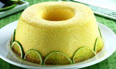 Receita de Pudim de limão chic - Show de Receitas