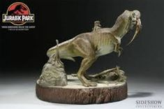 Image result for jurassic park statue