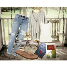 """""""Cool Summer Night Outfit #5"""" by collegelifestyles on Polyvore"""