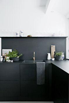 Keuken inspiratie: 25x zwarte keukens
