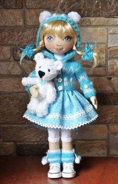 Zulya Alibekova cloth doll