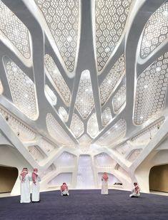 Zwischen Hybris und Vernunft - Forschungszentrum in Riad von Zaha Hadid Architects