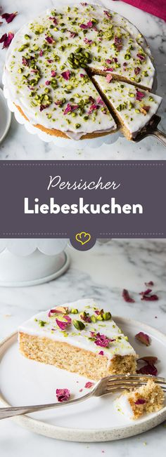 Stelle dir vor, dein Schwarm steht vor der Tür, hält diesen Kuchen in den Händen und schaut dir strahlend in die Augen. Easy Bread Recipes, Sweet Recipes, Baking Recipes, Cake Recipes, Dessert Recipes, Healthy Recipes, Torte Au Chocolat, Dessert Bowls, Love Cake