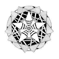 Curiosity Zendala - Tinker Tangles