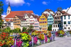 Located in Germany's Black Forest, Baden-Baden combines Mediterranean flair with cultural attractions. Cities In Germany, Visit Germany, Cities In Europe, Germany Travel, Most Beautiful Cities, Beautiful World, Places To Travel, Places To Go, Horse Carriage Rides