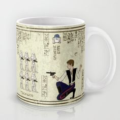 hero-glyphics: The Force Mug