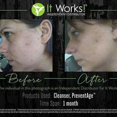 #ItWorks!! ✔️A Soap Free Formula #Facial #Cleanser ✔️Leaving Skin Soft, Smooth,& Balanced Naturally #ItWorks #SkinCare!! Awesome results using our cleanser and #Preventage 918-739-0279