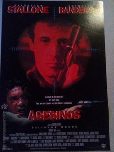 Asesinos. Silvester Stallone y Antonio Banderas