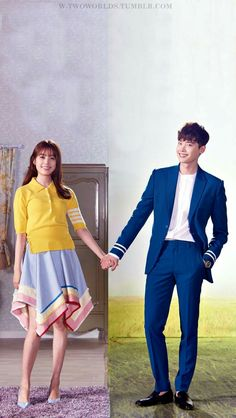 "Dorama ""W - Two Worlds"", Lee Jong Suk, Han Hyo Joo. MBC Julio-Sep 2016"