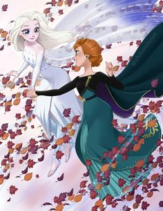 Elsa and Anna Princesa Disney Frozen, Disney Princess Frozen, Disney Princess Drawings, Disney Drawings, Frozen Art, Anna Frozen, Disney Movies, Disney Pixar, Frozen Pictures