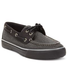 Sperry Top-Sider Shoes, Men's Bahama 2-Eye Heavy Canvas Boat Shoes