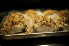 Pecan crusted mahi-mahi