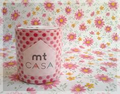 MT Casa tape red polka dots washi tape for home decor