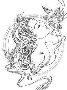 Resultado de imagen para goddess venus draw