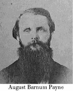 August Barnum Payne K 3rd La