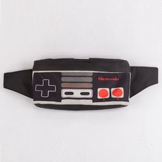 """Now Gamers too have a way to brag 'em self 'bout their way of traveling, oohhh yeah that's the sweetest way of redemption and payback!!, our Waist Bag Nintendo originally designed by Cub Traveler is #1 gamers friend for traveling and one from """"must have"""" stuff of gamers list!!, IDR: 200,000, For complete INFO & ORDER detail just check our BOARD, #bags #bag #waistbags #waistbag #modernoutdoorsman #urbantraveling #urban #traveling #traveler #nintendo #videogames #joysticks #products #outdoor"""