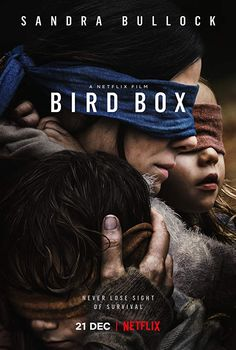 The MHM Podcast Network movie synopsis and film summary of Bird Box starring Sandra Bullock, Trevante Rhodes, and John Malkovich. Box Netflix, Films Netflix, Good Movies On Netflix, Good Movies To Watch, Great Movies, Movies Online, Movies Free, Watch Netflix, Scary Movie List